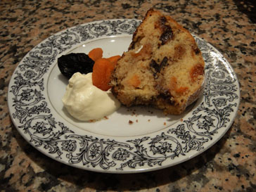 Annabelle White's Apricot Prune Cake